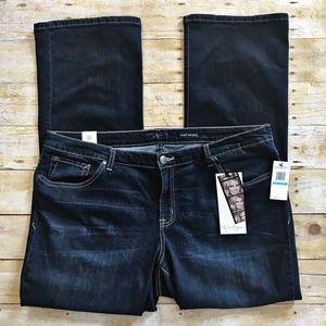 Jessica Simpson | Rockin Curvy Boot Darkwash Jeans